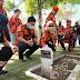 Hari Kesaktian Pancasila Pemuda Pancasila Lumajang Berziarah Ke Makam Pahlawan