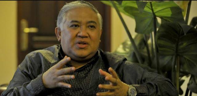 Komitmen dengan Pancasila, Din Syamsuddin : Saya Tolak Khilafah Politik