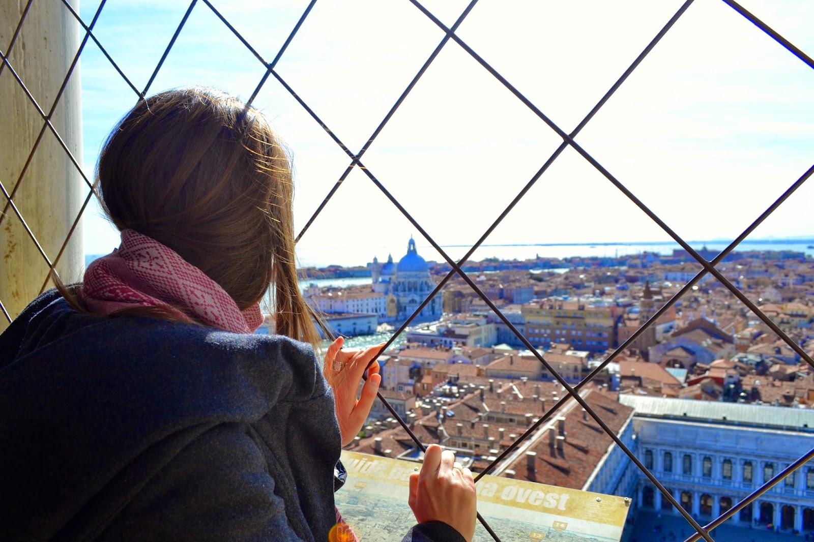 vistas campanile venecia italia