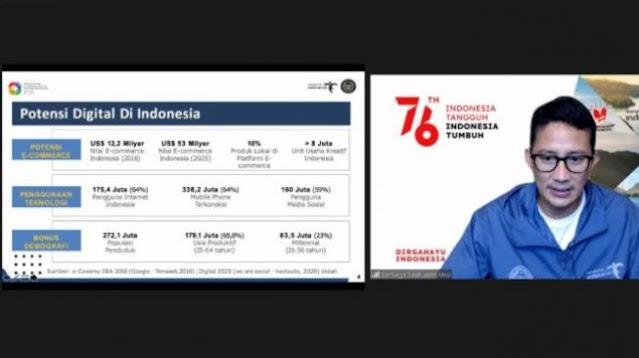 Sandiaga Uno ke Mahasiswa Makassar : Harus Gerak Cepat Jangan Suka Rebahan