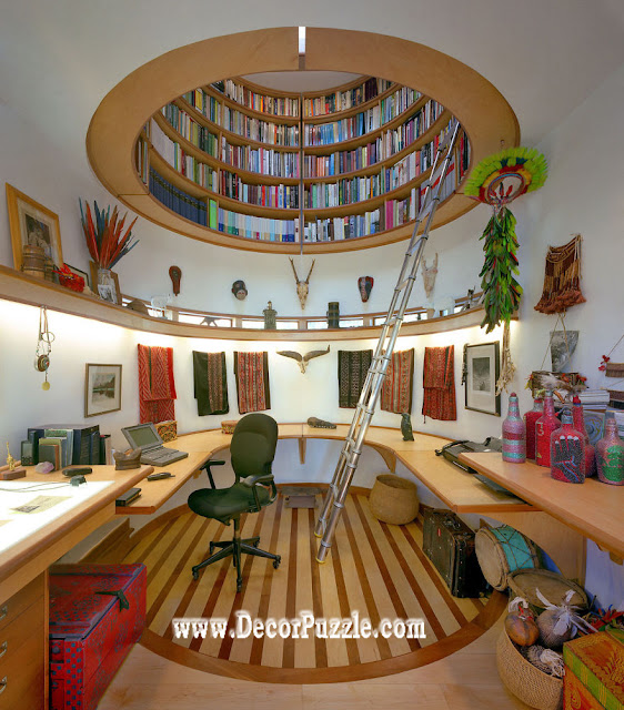 library ceiling design ideas for office room to storage books
