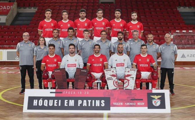 Blog Benfica Plantel de Hóquei em Patins para a nova temporada
