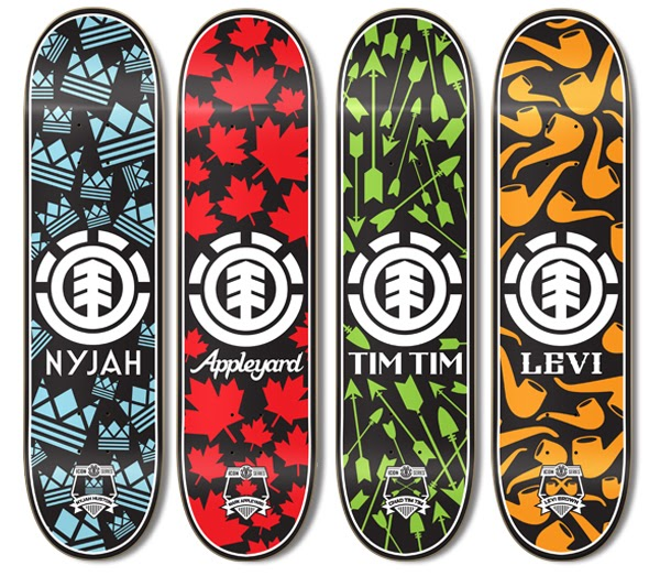 Top Five Brands for the lovers of skateboards