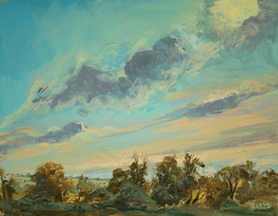 Plainair painting: Against the Sun