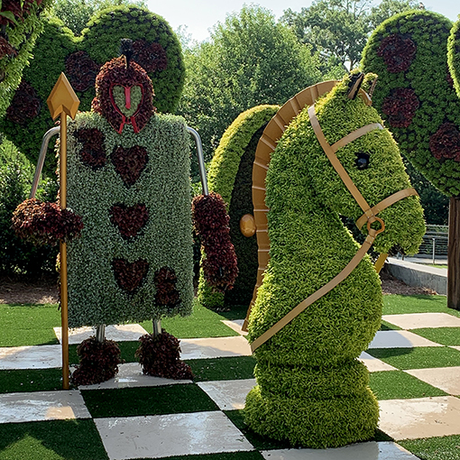 Atlanta Botanical Garden | Imaginary Worlds: Alice's Wonderland (Photo: Travis Swann Taylor)