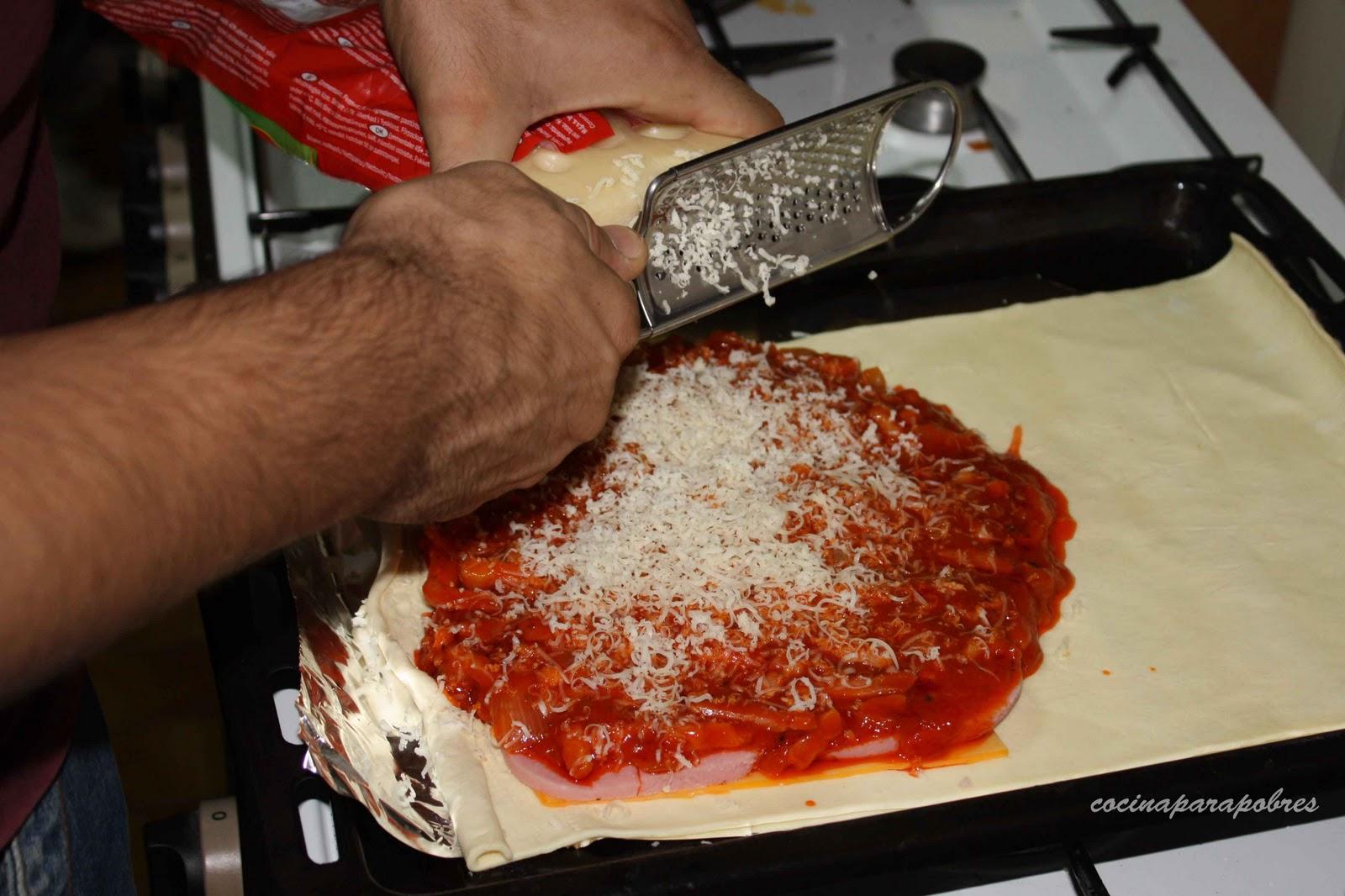 cocina para pobres hojaldre relleno