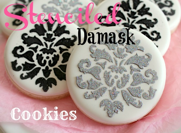 Be Different...Act Normal: Stenciled Sugar Cookie Tutorial