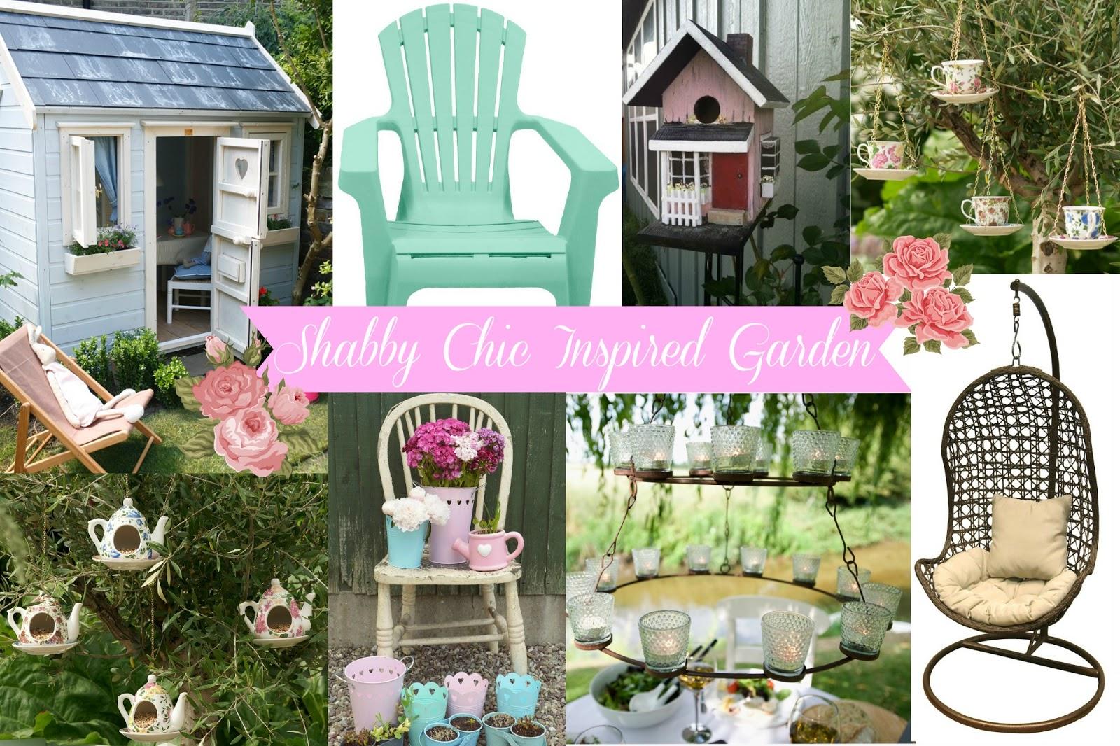 A Shabby Chic Inspired Garden ♥