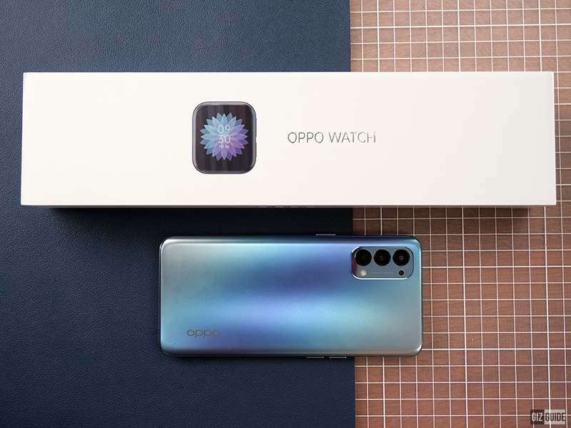 OPPO Watch Box with OPPO Reno4
