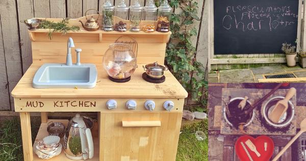 Arthurwears Mud Kitchen Ideas Accessories For Outdoor Play Eyfs