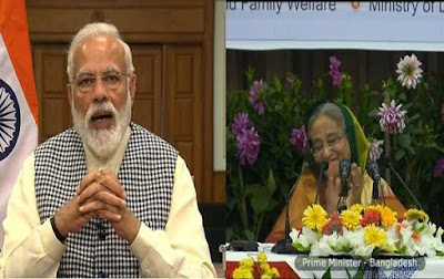 India And Bangladesh Unveiled Development Projects
