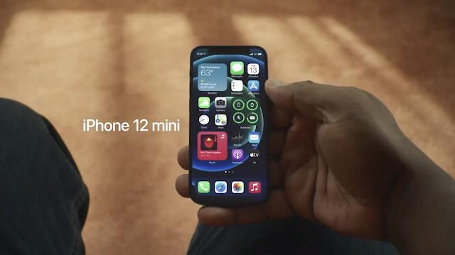 حجم بطارية ايفون 12 الجديد iPhone 12 mini تصدم الجميع