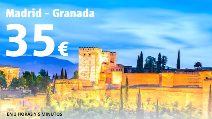 Tren de alta velocidad Madrid-Granada