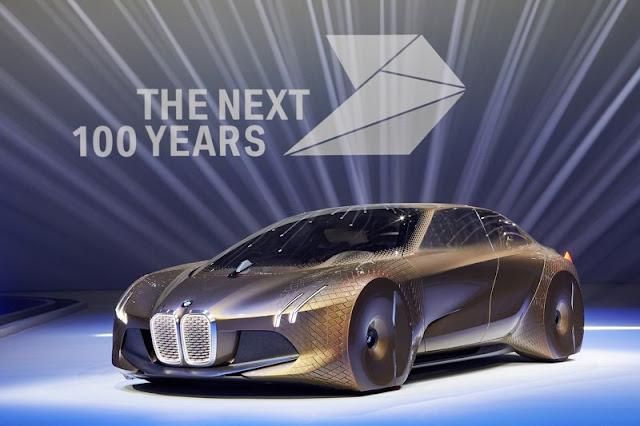 BMW Rancang Desain Mobil 100 Tahun Mendatang, Ini Penampakannya