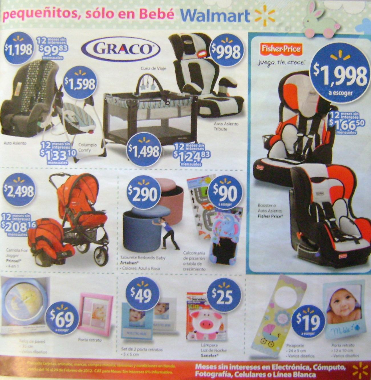 Radar Bebé-Ofertas  Walmart Venta del Bebé 16-29 Feb. de1f71442be