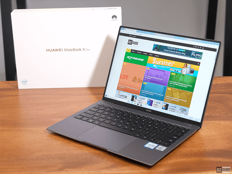 Huawei MateBook X Pro 2020 with 10th Gen Intel Core i7 arrives in the Philippines