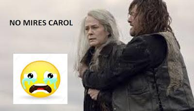 Carol y Daryl The Walking Dead 9x15