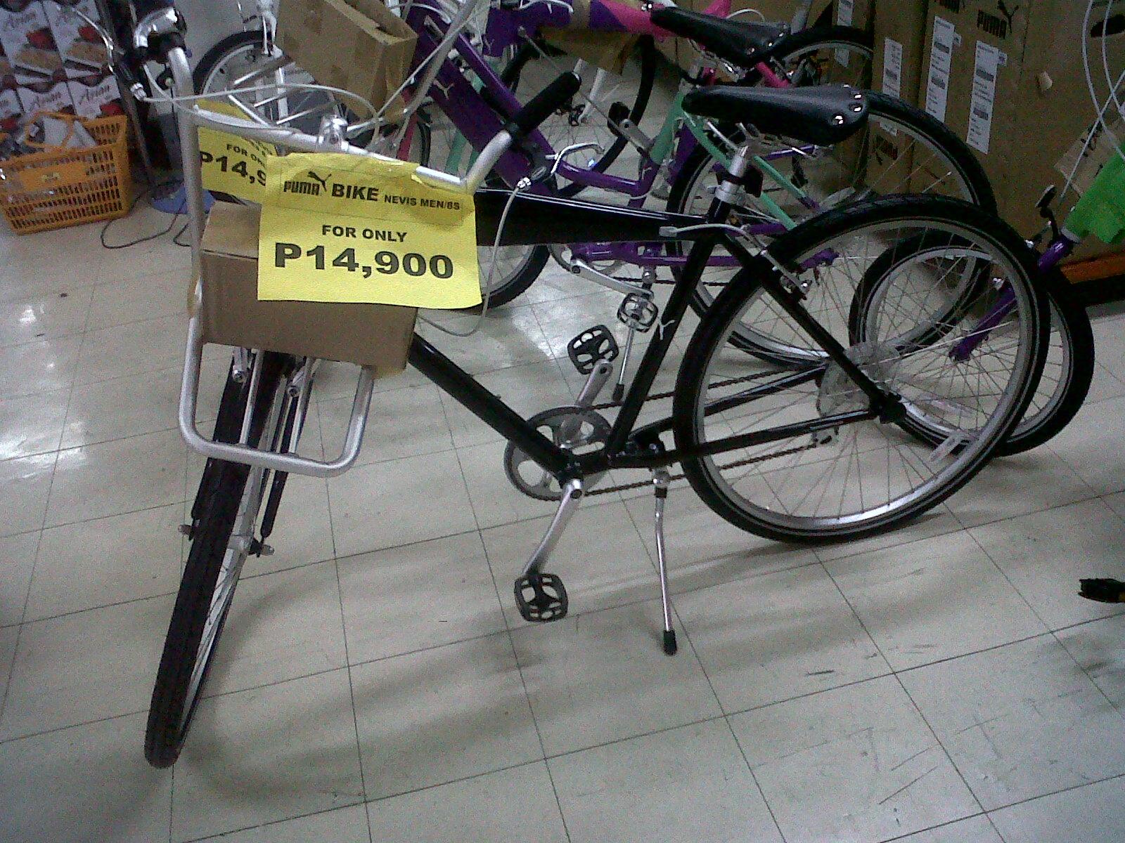 Riding a folding bike around Manila: Puma folding bikes in ...