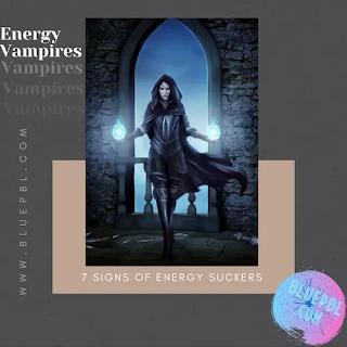 Energy Vampires drain your soul