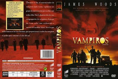 Carátula dvd: Vampiros de John Carpenter