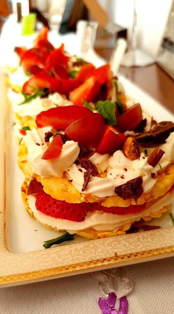wafle kukurydziane,wafle ryżowe kupiec,deser lekki, deser fit,szybki deser z owocami,firma kupiec, ambasador marki kupiec, pyszny deser,łatwy deser, z kuchni do kuchni najlepszy blog kulinarny,łatwy przepis na deser,