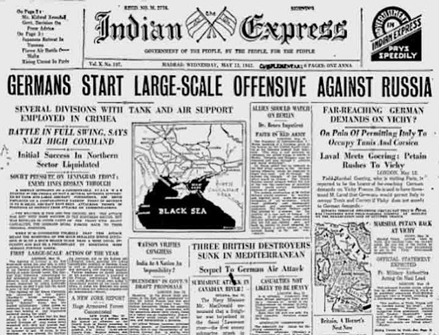 Indian Express, 13 May 1942 worldwartwo.filminspector.com