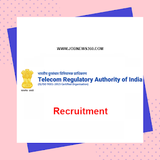 TRAI Recruitment 2020 for Joint Advisor