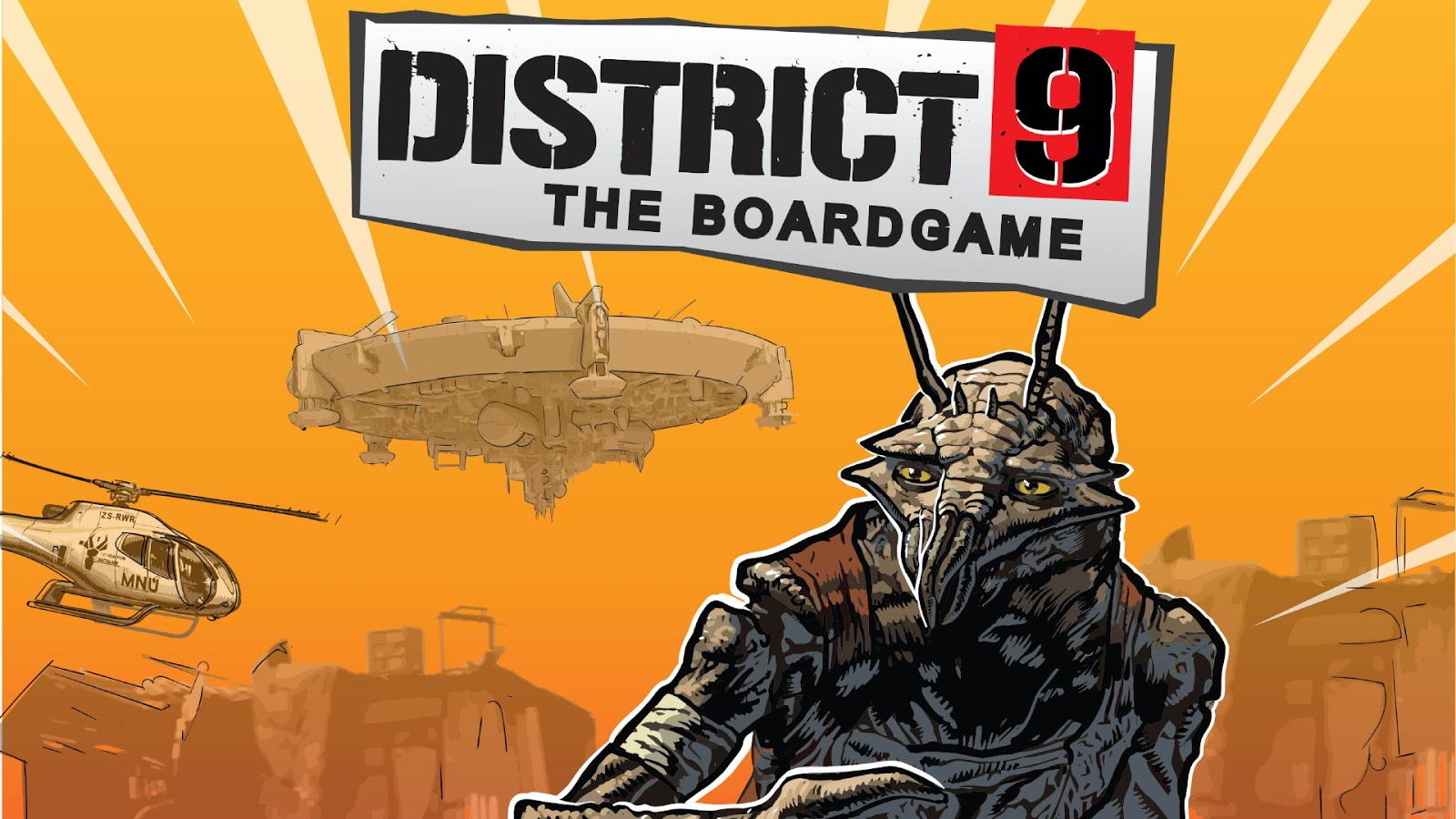Kickstarter Highlights - District 9 The Board Game