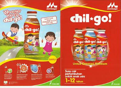 Susu cair pertumbuhan Morinaga Chil-Go!