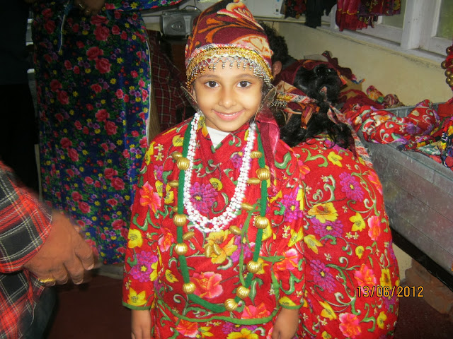 A Beautiful Girl in Darjeeling local Dress