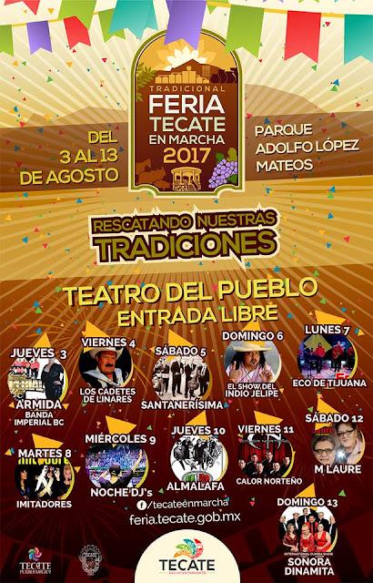 teatro del pueblo Feria Tecate 2017