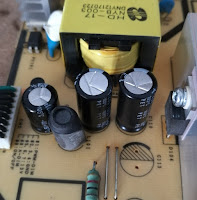 Replaced capacitors