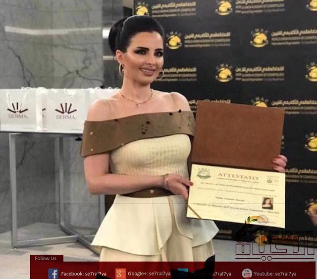 """خبيرة واستشارية الجمال السورية """"ميرنا كساب"""" انا ضد المبالغة في عمليات التجميل ولدينا تقنيات حديثة في عالم التجميل"""