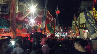 Suasana Imlek Fair 2017 Kota Pematangsiantar