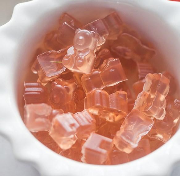 Homemade Gummy Bear Recipe #candy #dessert