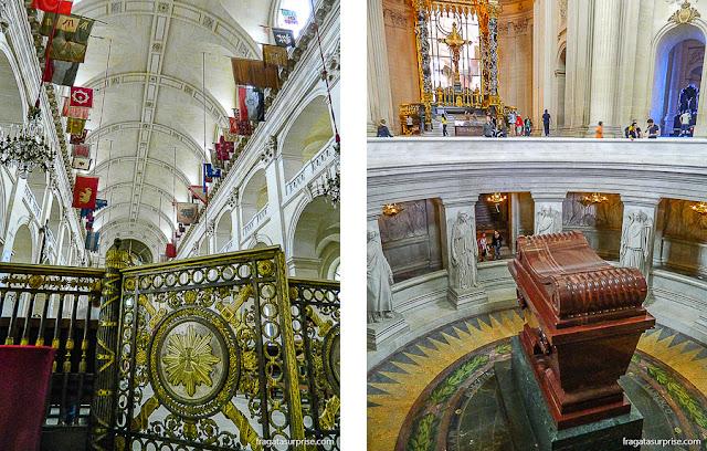 Museu Les Invalides, Paris, Catedral de Saint-Louis e túmulo de Napoleão