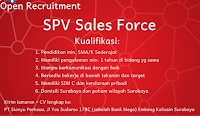 Open Recruitment at PT. Sianyu Perkasa Surabaya Februari  2021