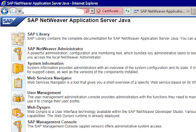 Exporting and Installing the SSL Certificate in SAP Identity Management
