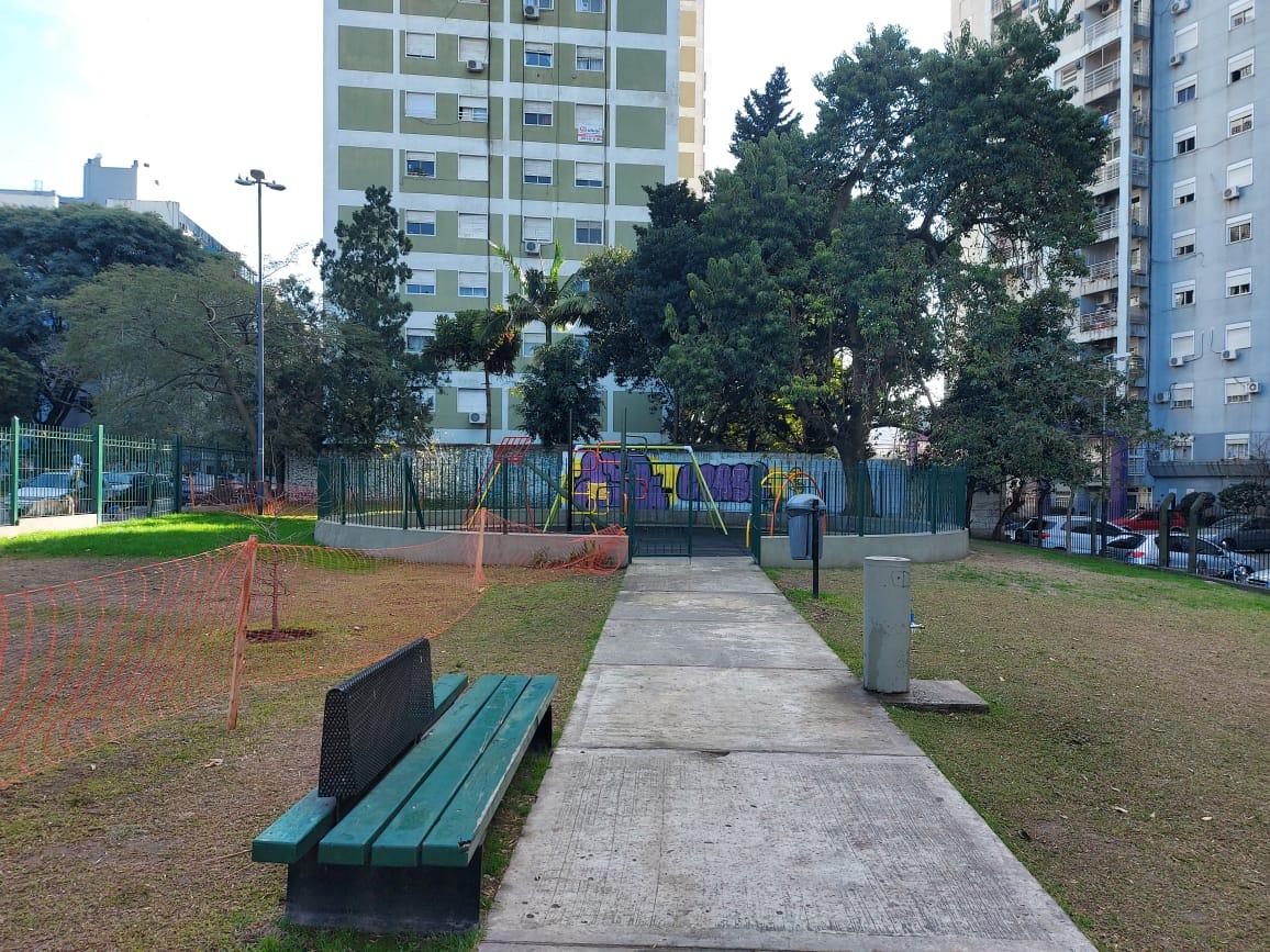 Plaza Santos Dumont de Colegiales