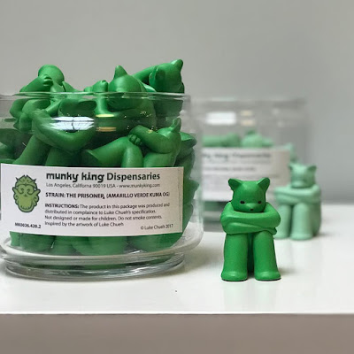 The Prisoner Kuma OG Edition Resin Figure by Luke Chueh x Munky King