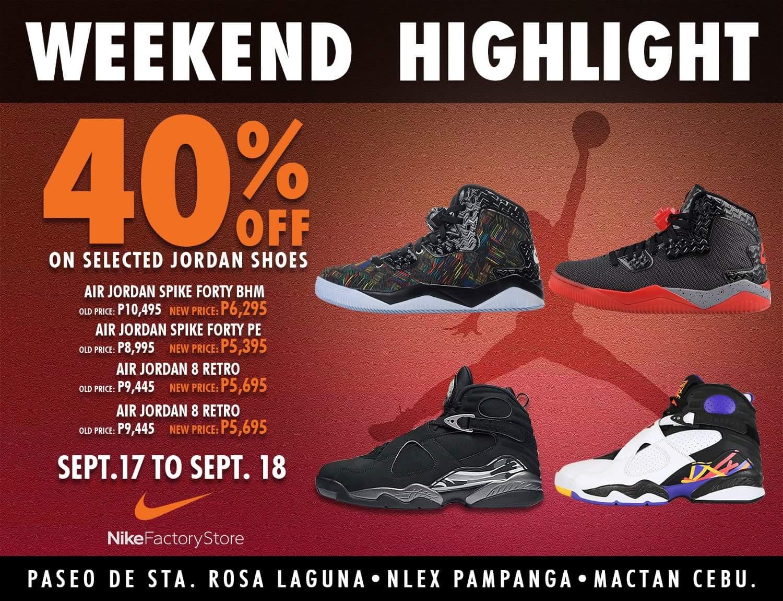 Manila Shopper: Nike Factory Outlet Stores Air Jordan ...