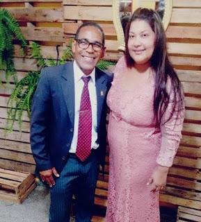Pastora Rosângela de Lima em festa nesta quarta-feira (8), em Alagoinhas