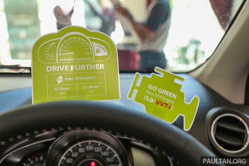 Perodua Axia 2017 Lebih Jimat dan Berkuasa