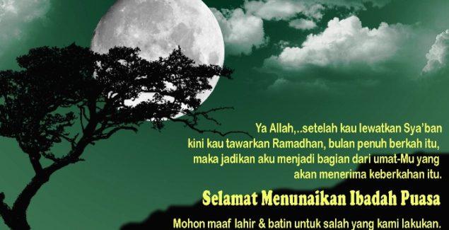 Kata Ucapan Selamat Puasa Ramadhan 2017 / 1438 H