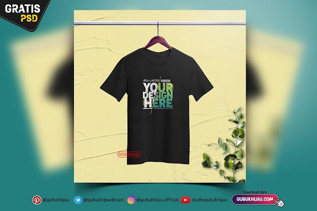 Mockup Kaos Anak by gubukhijau
