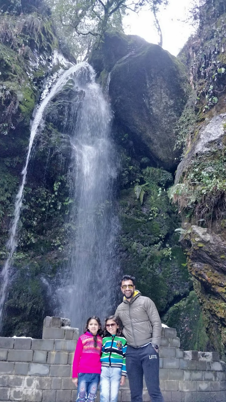 Jibhi Waterfall, Himachal Pardesh.