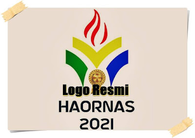 logo hari besar olahraga nasional haornas 2021 resmi - kanalmu
