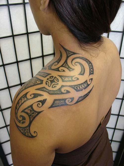 kadın maori tribal dövmeleri woman maori tribal tattoos 32