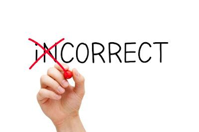 Trước khi sửa chữa sai lầm thì bạn nên tìm ra đâu là sai lầm