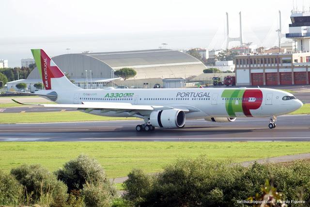 AEROPORTO HUMBERTO DELGADO - LPPT - A330-900neo - D. JOÃO II